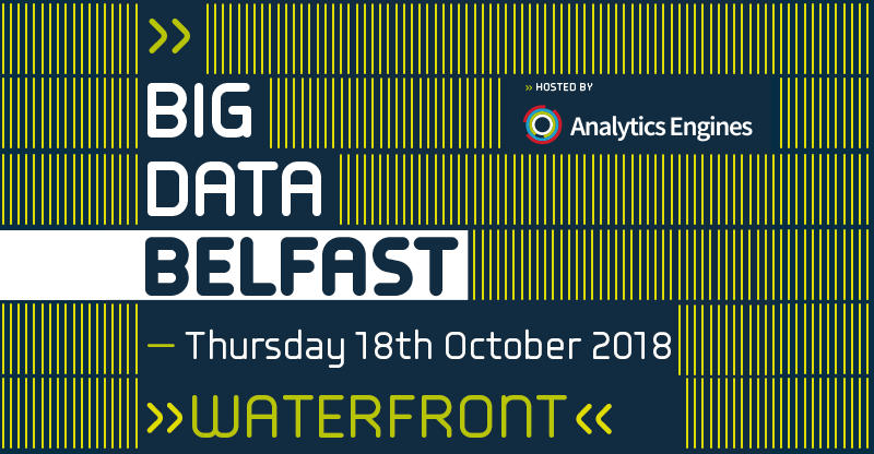 Data Driven Healthcare at Big Data Belfast 2018 featured image
